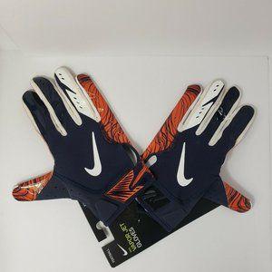 Nike Vapor Football Receiver Gloves Chicago Bears